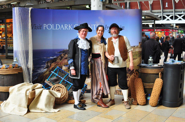 Poldark-at-Paddington--photo-by-Neil-Buxton