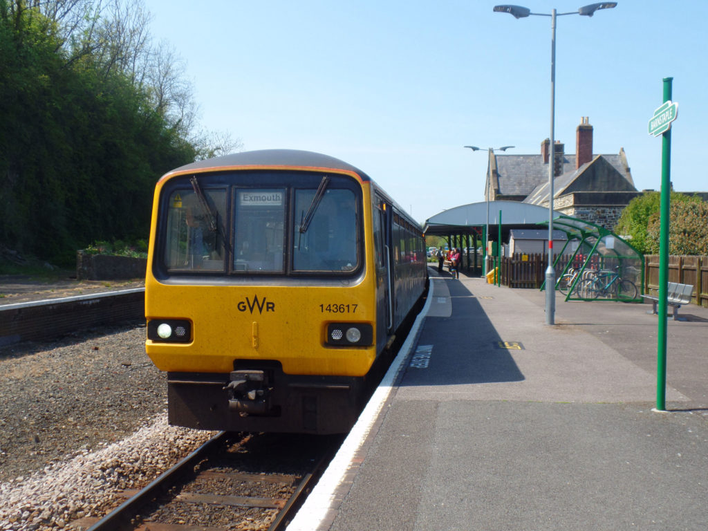 2F39 1443 Barnstaple to Exmouth