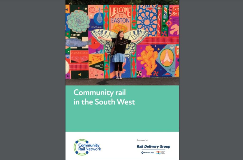 Community Rail in the South West report cover