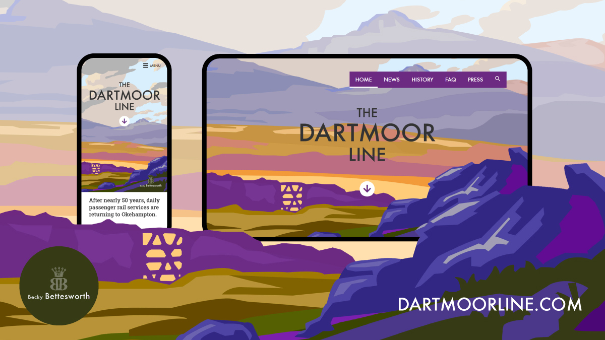 DartmoorLine.com promotional graphic
